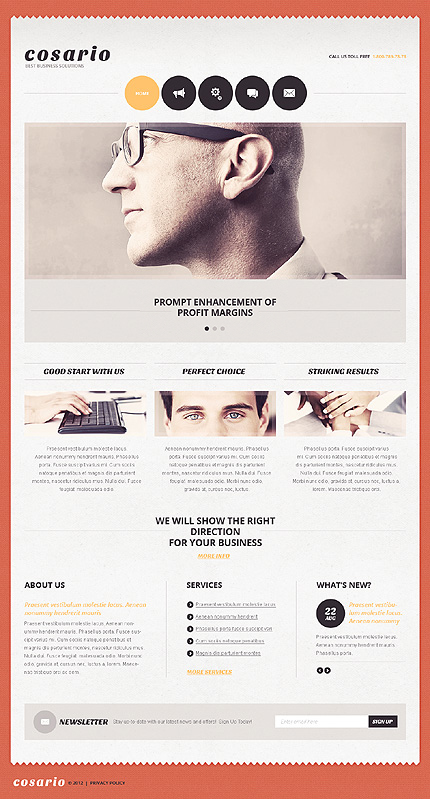 Website Template #39673