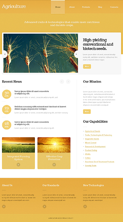 Website Template #39693