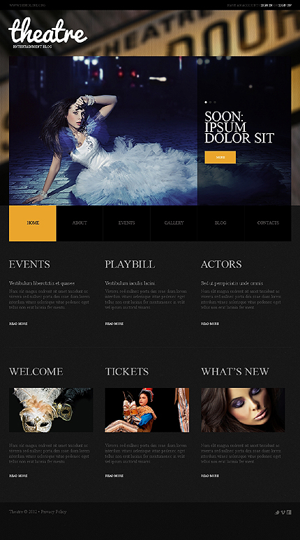 Website Template #39697