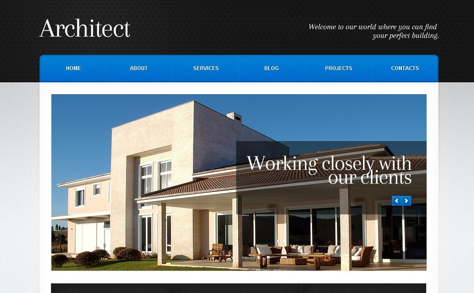 Architecture WordPress Theme New Screenshots BIG