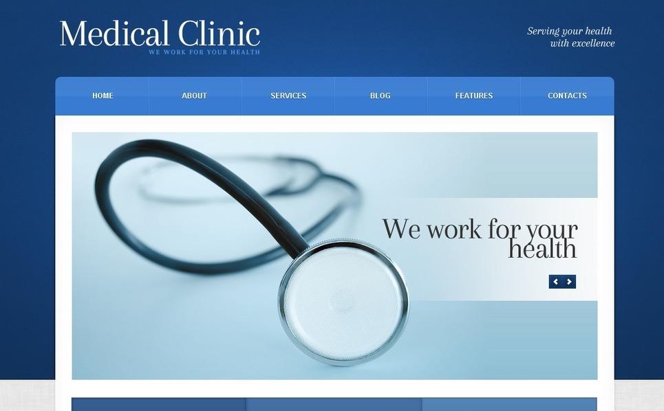Medical WordPress Theme New Screenshots BIG