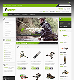 Fishing Store - PrestaShop Theme #39704 by Hermes