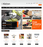 Kitchen Supplies - PrestaShop Theme #39705 by Hermes