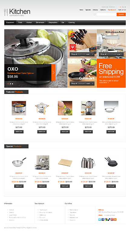 Website Template #39705