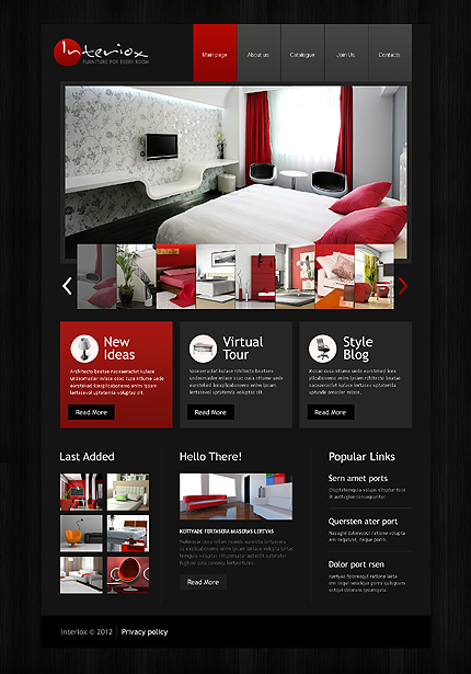 Website Template #39726