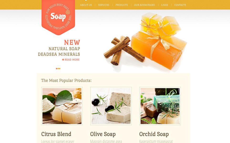 Cosmetics Store Website Template New Screenshots BIG