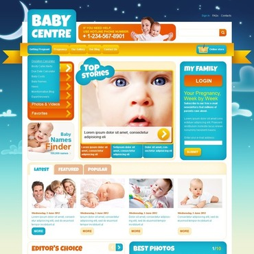 Free home services website templates free website templates for advertising pronofoot35fo Images