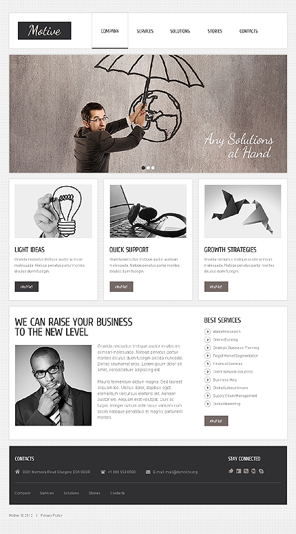 Website Template #39739