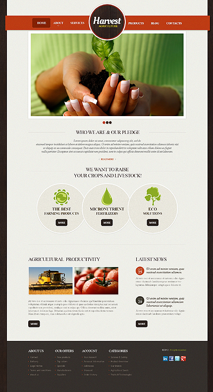 Website Template #39740