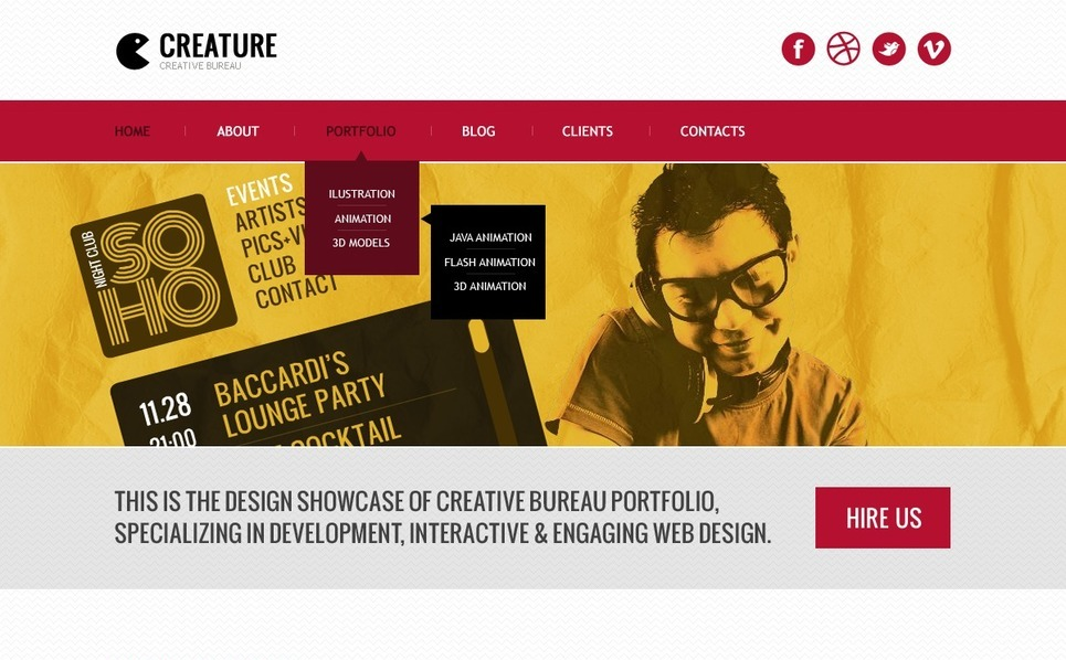 Design Studio Website Template New Screenshots BIG