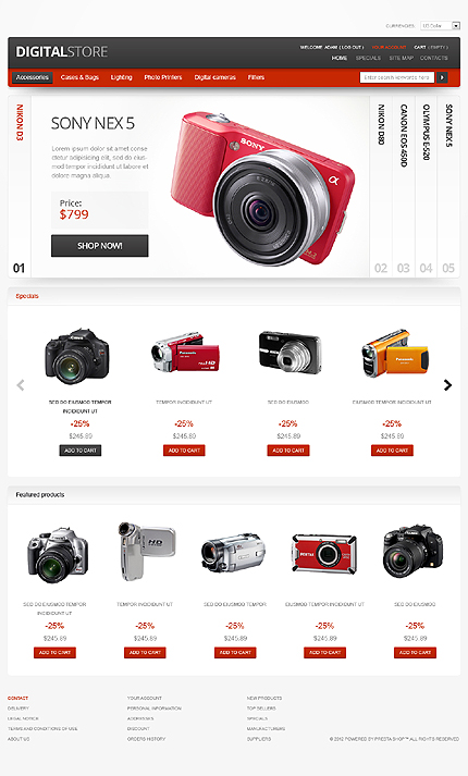 Website Template #39747