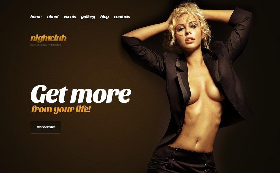 Night Club WordPress Theme New Screenshots BIG