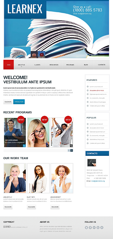 Website Template #39752