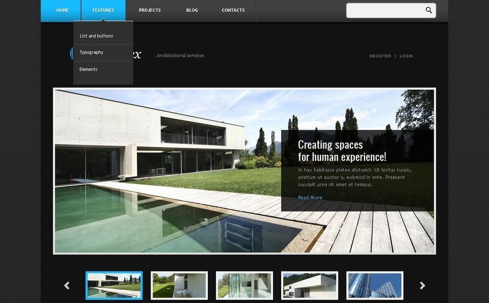 Construction Company WordPress Theme New Screenshots BIG