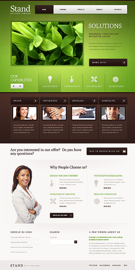 Website Template #39760