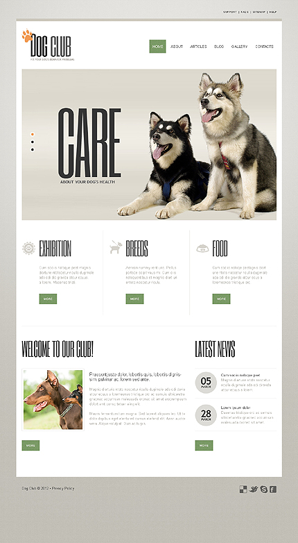 Website Template #39776