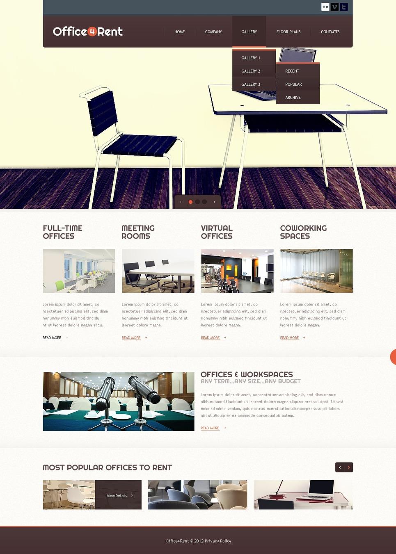 Office Website Template New Screenshots BIG