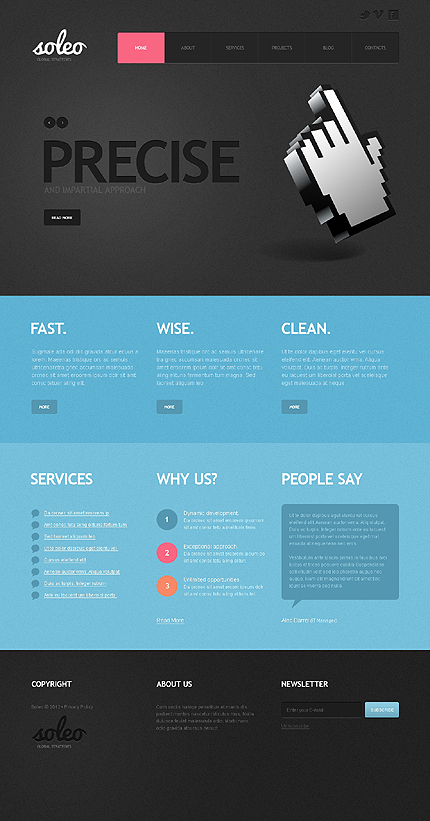 Website Template #39810