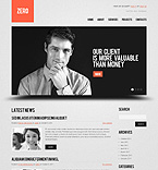 WordPress theme #39836 by Cowboy