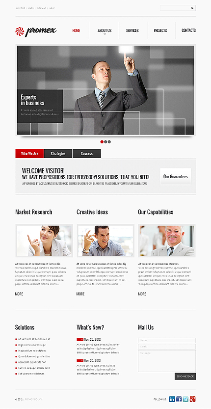 Website Template #39864