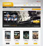 Action Games - PrestaShop Theme #39885 by Hermes
