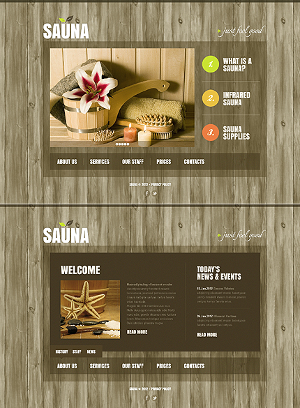 Website Template #39905