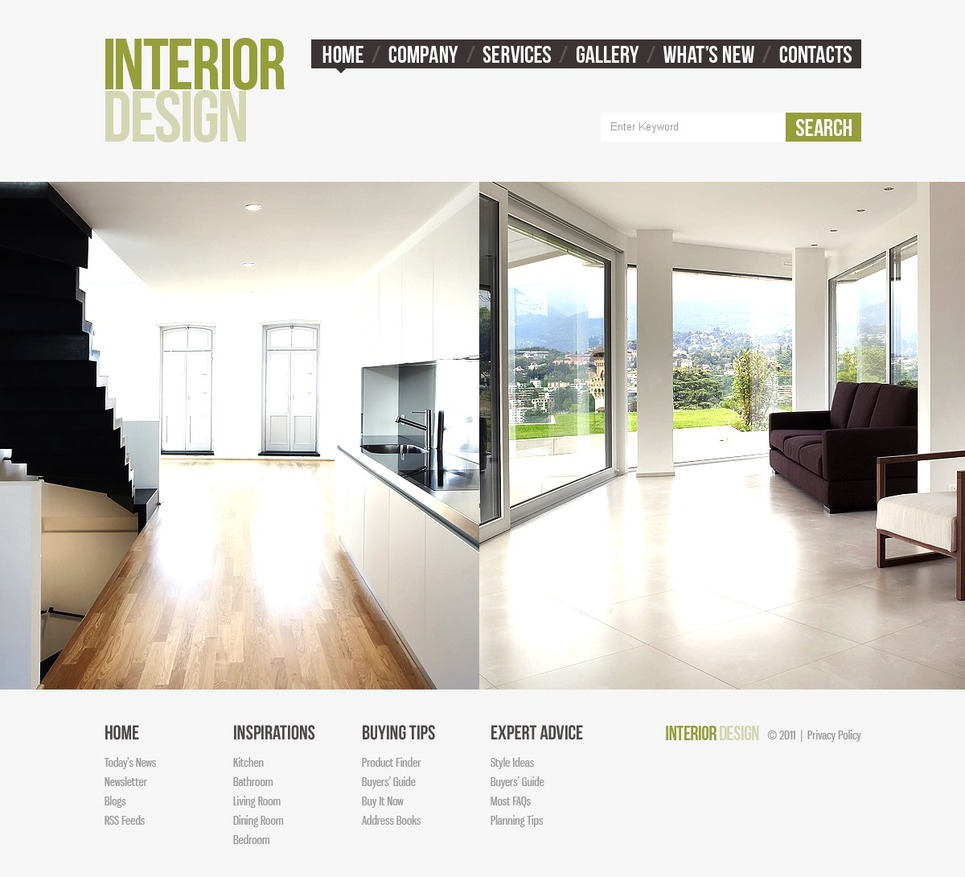 Interior Design Joomla Template 39913