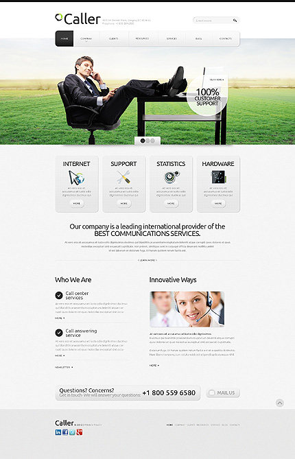 Website Template #39915