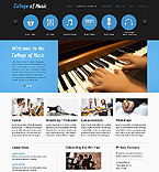 Website template #39934 by Angela