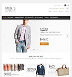 Men's Clothing - PrestaShop Theme #39953 by Hermes
