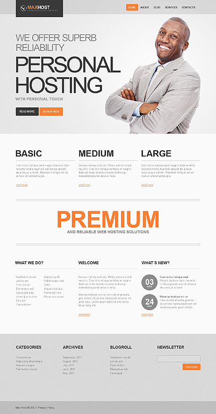 Website Template #39955