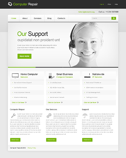 Website Template #39977