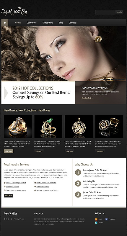 Website Template #39984