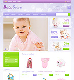 Baby Market - PrestaShop Theme #40002 by Hermes