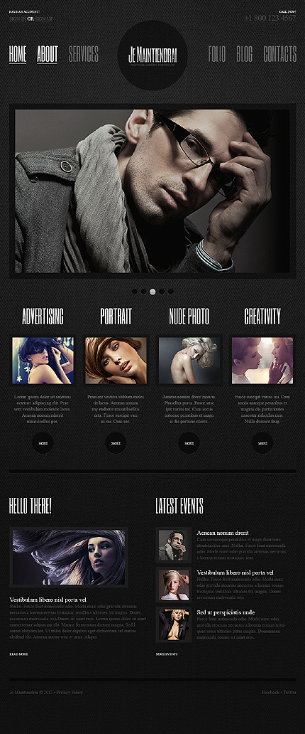 Website Template #40007