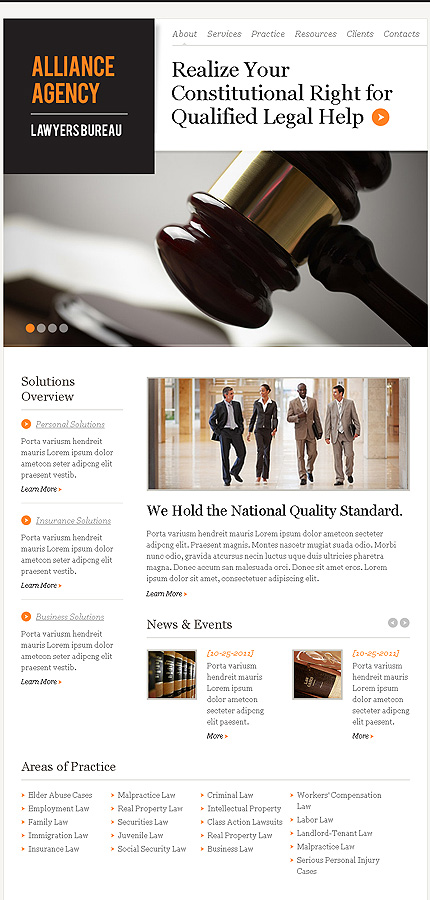 law firm responsive website template web design templates website templates download law. Black Bedroom Furniture Sets. Home Design Ideas
