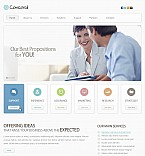 Stretched Flash CMS Theme #40073