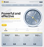 Stretched Flash CMS Theme #40075