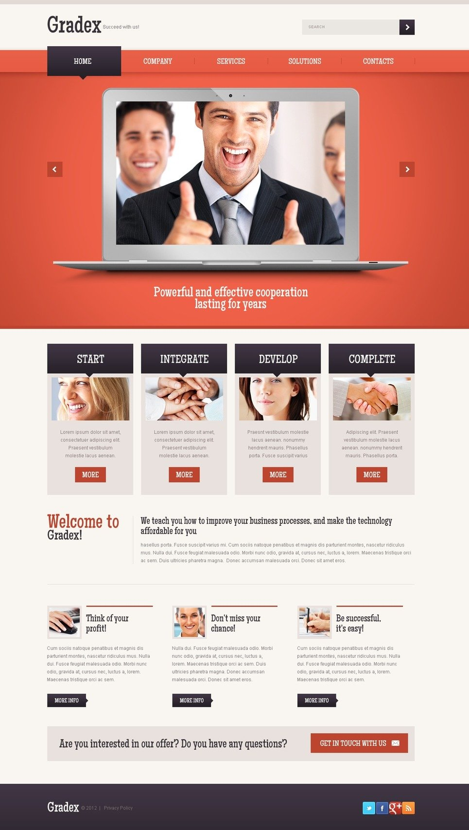 template for joomla 168 with it joomla template 40090