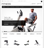 Fitness Equipment - PrestaShop Theme #40152 by Hermes