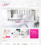 Exclusive Linen - PrestaShop Theme #40153 by Mercury