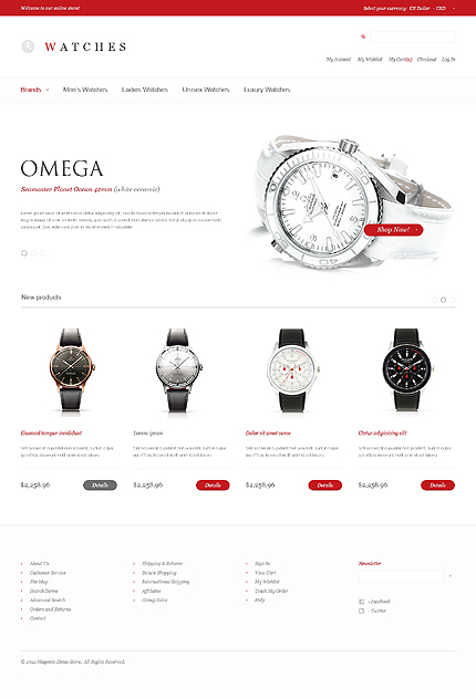 Watches – Fabulous Watches Store Magento Theme