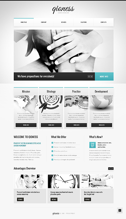 Website Template #40211