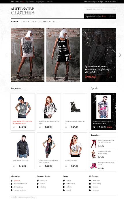 Fashion opencart template #40225