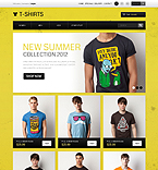 Funny T-Shirts - PrestaShop Theme #40227 by Ares