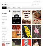 Books & Magazines - PrestaShop Theme #40228 by Hermes