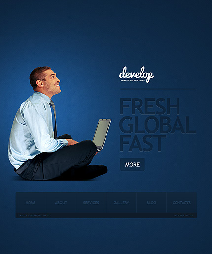 View LiveDemo for Develop – WordPress Responsive Corporate Theme