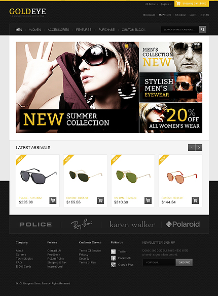 Glasses Website 2017