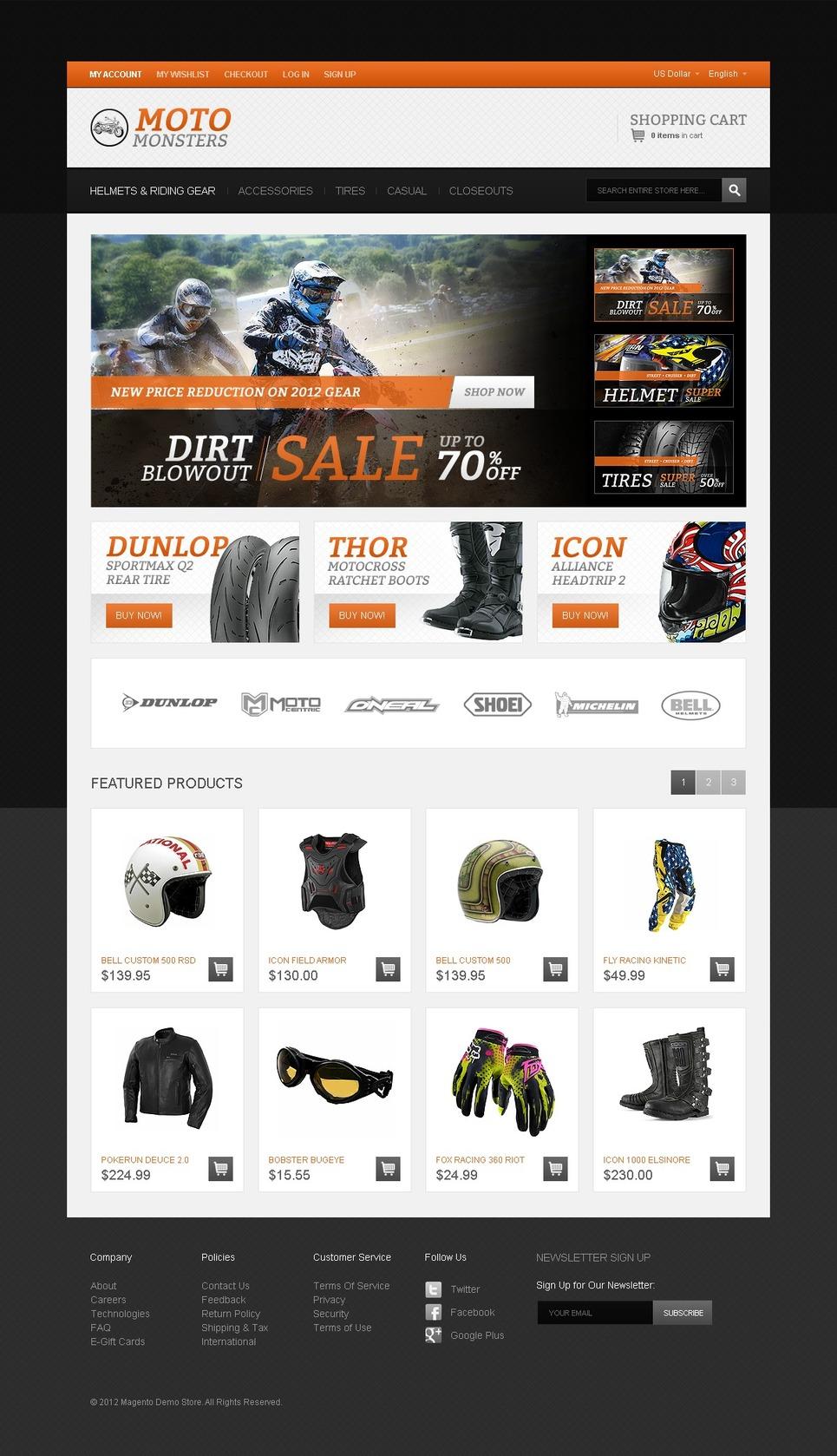 bike shop magento theme web design templates website templates download bike shop magento. Black Bedroom Furniture Sets. Home Design Ideas
