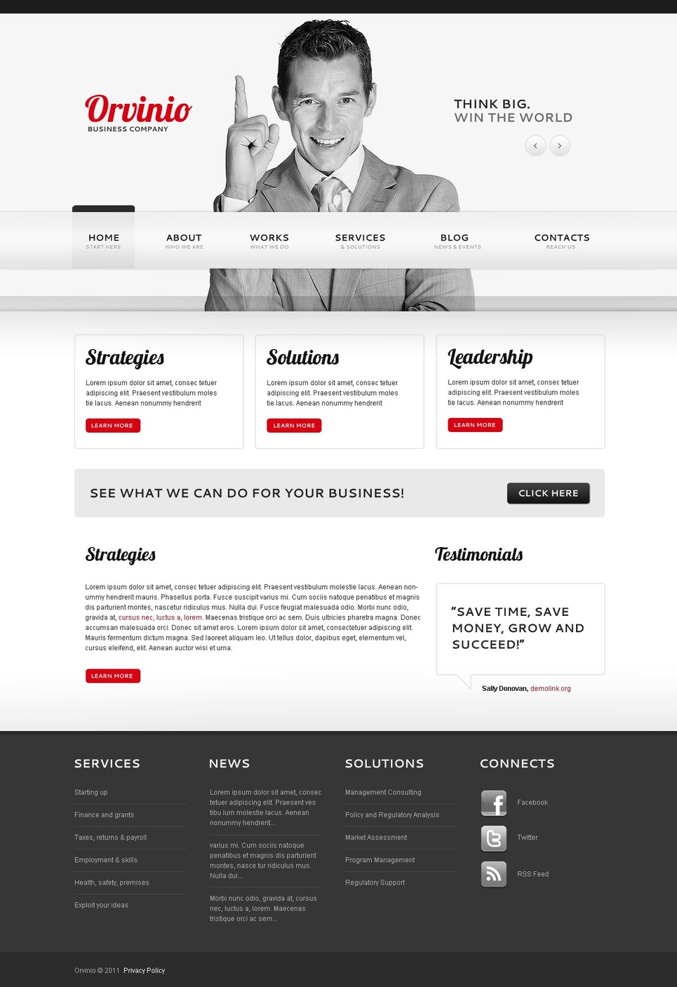 template for joomla 168 with management company joomla template 40270
